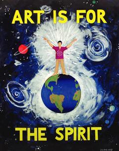'Art Is for the Spirit' Jonathan Borofsky